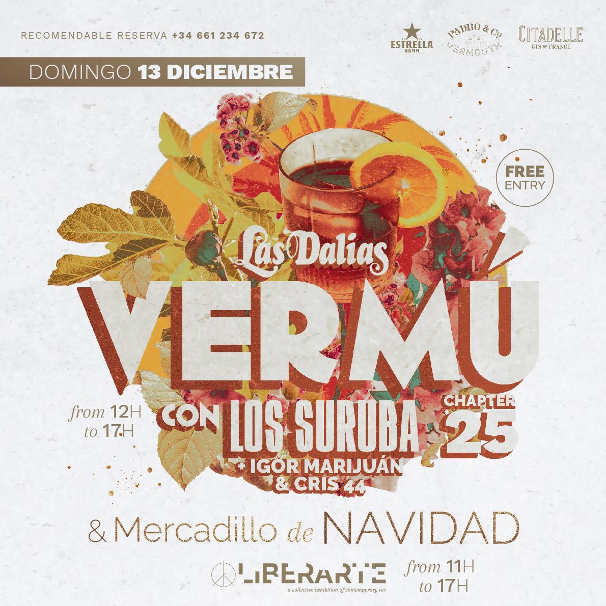 Vermu with Igor Marijuan & Cris 44 b2b recorded live at Las Dalias