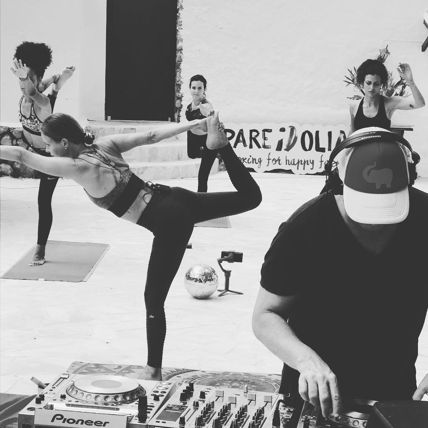 union yoga music in Ibiza