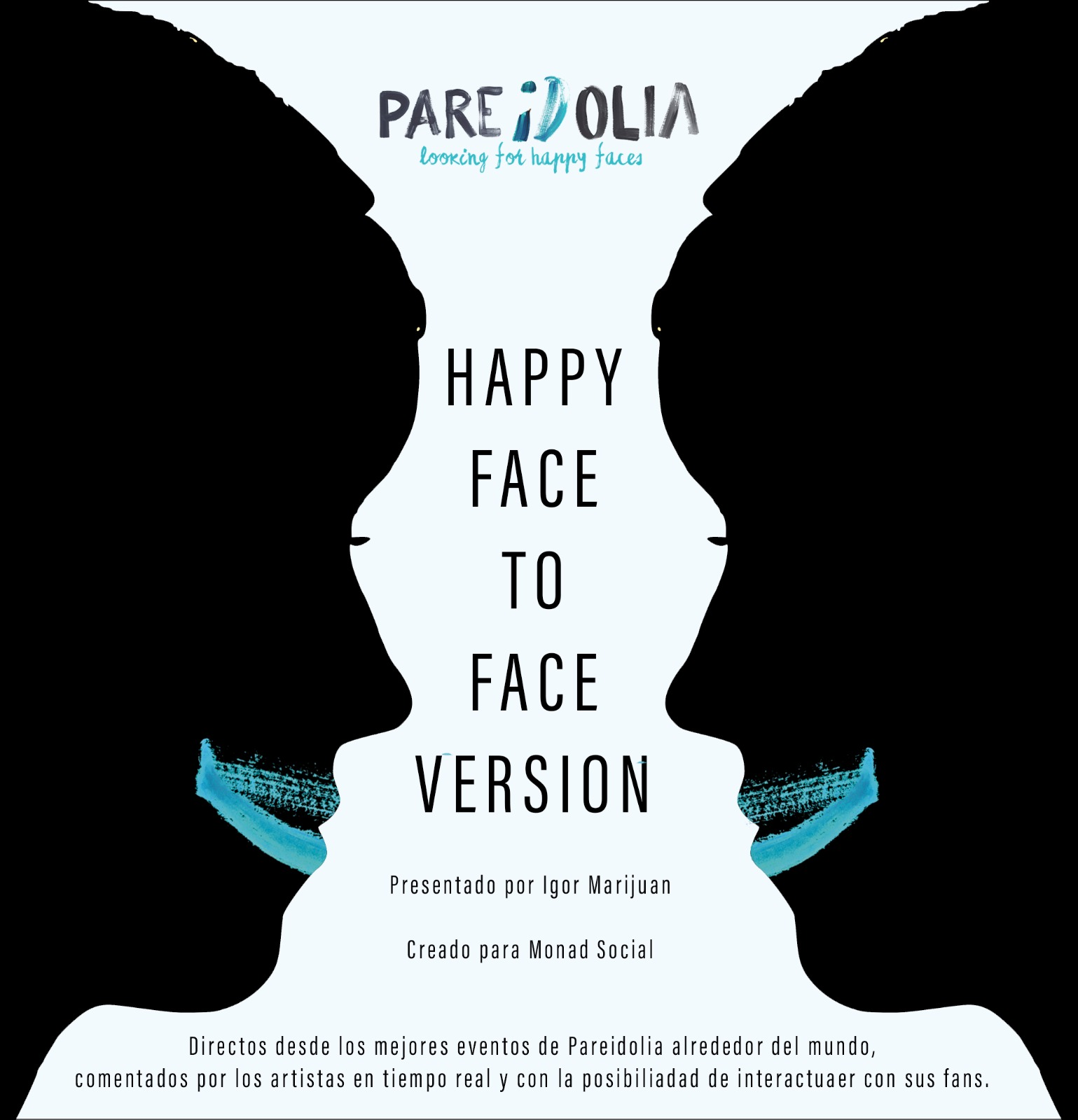 Pareidolia – The happy F2F chapters. Guest:  – Video: recorded live from