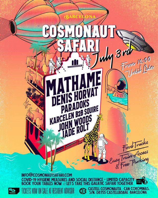 Cosmonaut Safari