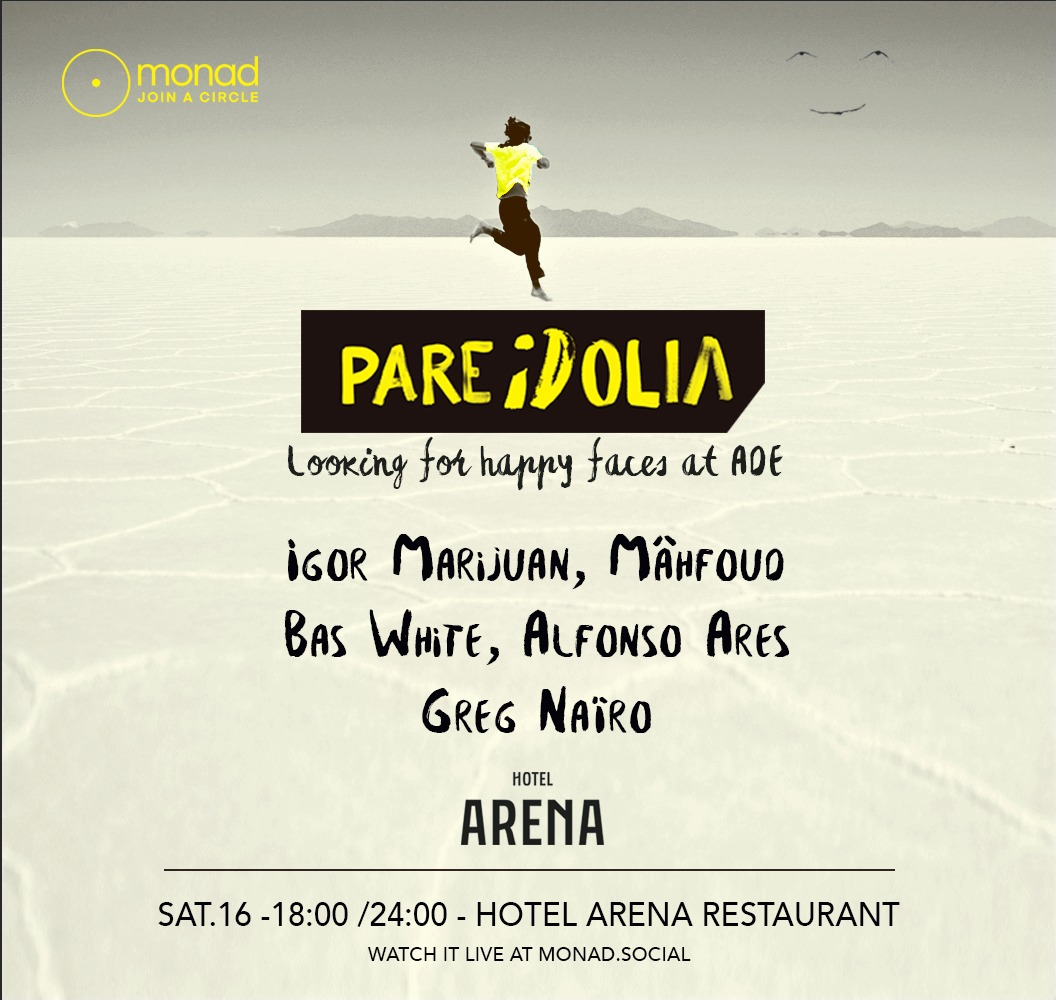 Pareidolia looking for happy faces at ADE